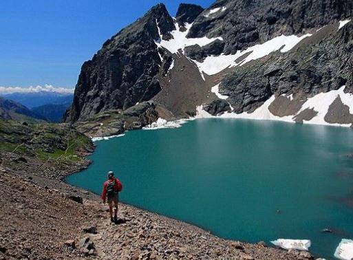 pescare nei laghi alpini