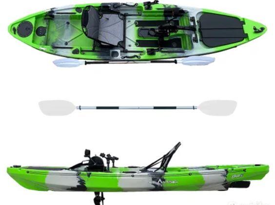kayak per pesca
